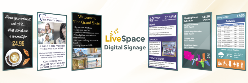 Invitation to become a LiveSpace digital signage Referral Partner